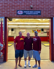 The most meaningful honor that Ken has ever received was having the La Serna weight room named after him in 2018.