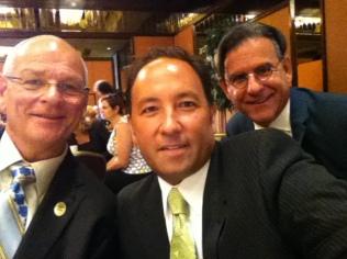 Ken with fellow California State Teachers of the Year Alex Kajitani (2009) and Michael Hayden (2014)