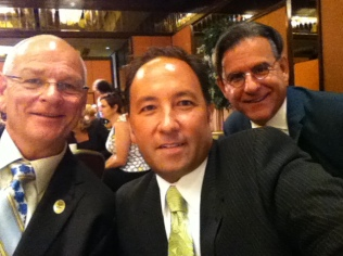 Ken with fellow California State Teachers of the Year Alex Kajitani (2009) and Michael Hayden (2014)