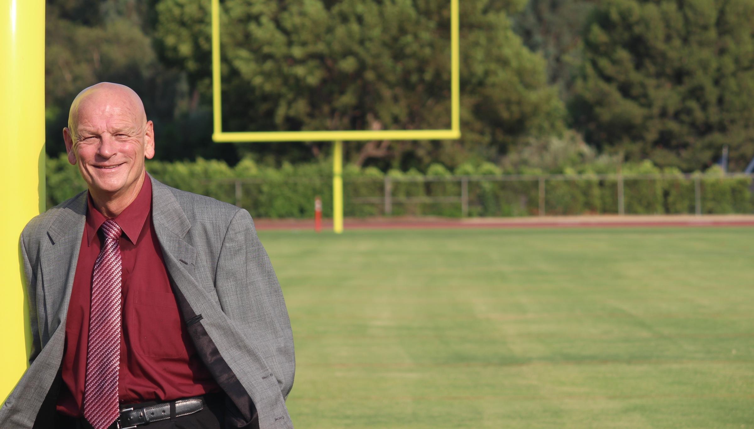 LaVigne on Football Field website homepage
